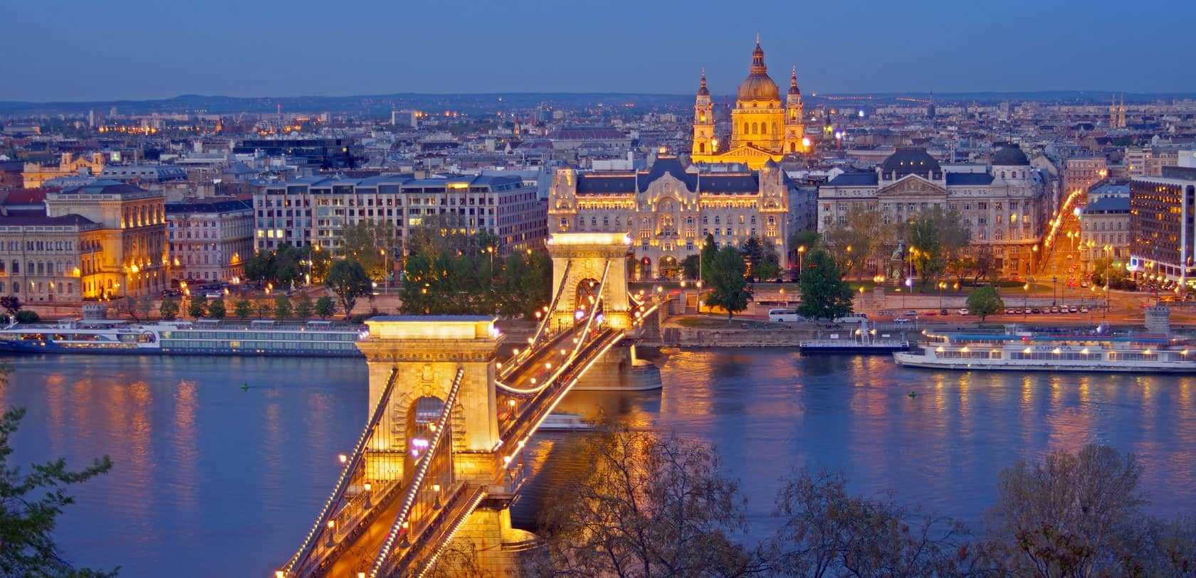 Budapeste:  2 noites + voos, desde 235€