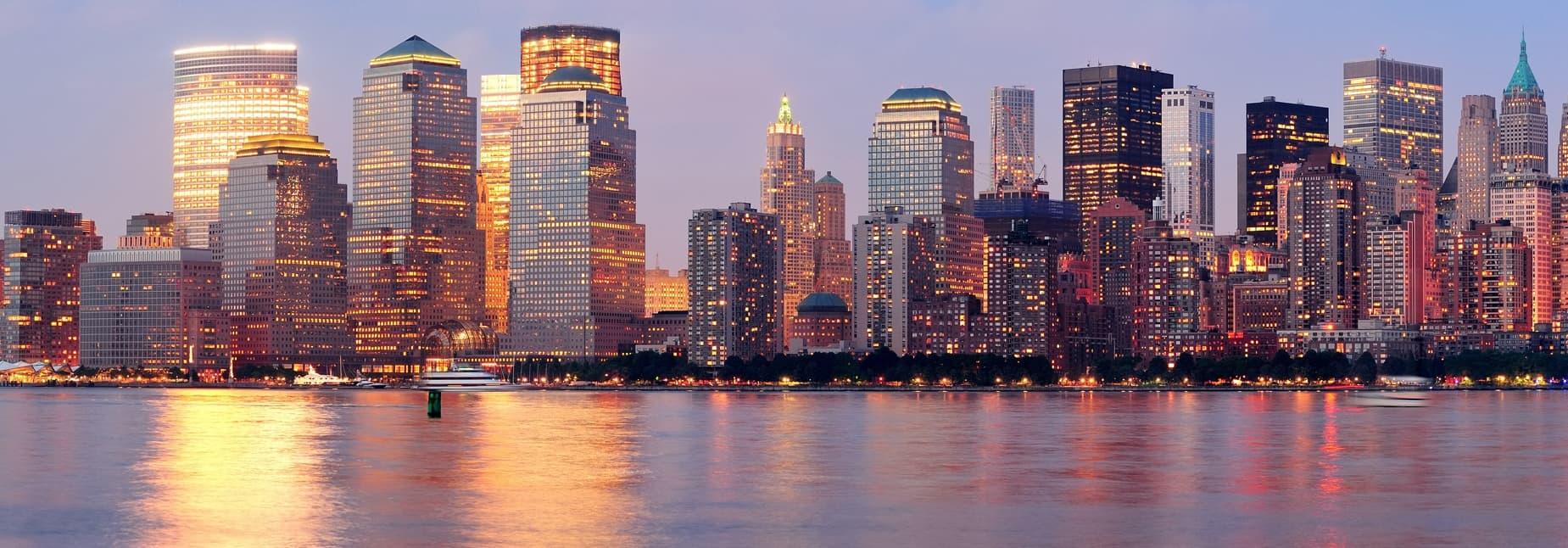 Nova Iorque:  4 noites + voos, desde 668€
