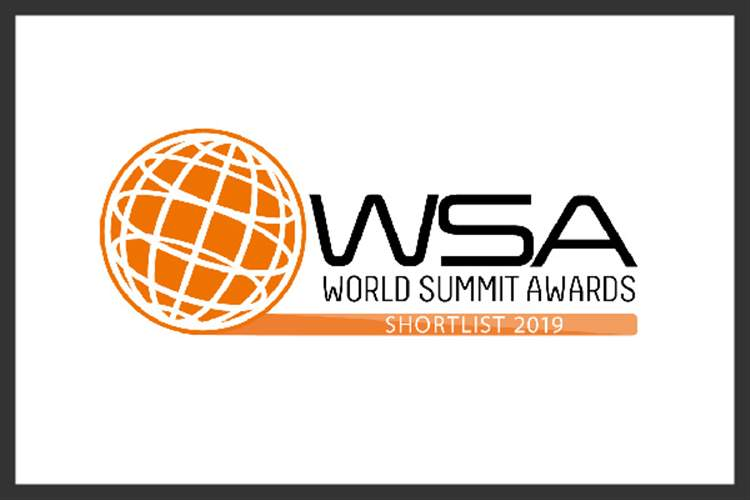 Proud to be closer to the finals of the World Summit Awards